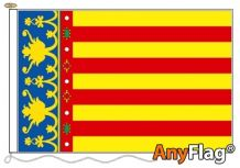 VALENCIA ANYFLAG RANGE - VARIOUS SIZES